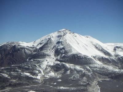 Ojos del Salado - 6,893m - najwyższy wulkan świata