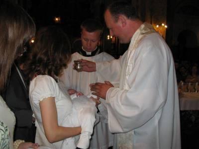 chrzest Małgosi