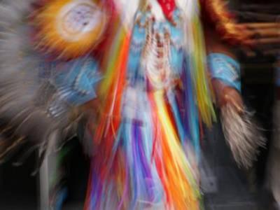 krk-indiański szaman:-))